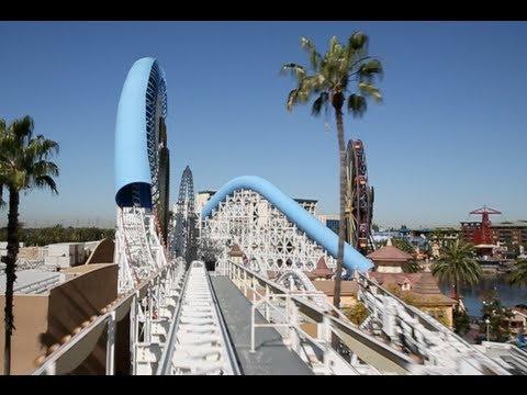 California Screamin' (Front Seat : HD POV) - Disney California Adventure Park