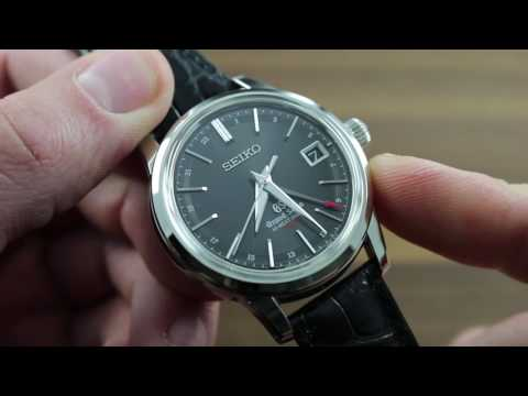 Grand Seiko SBGJ019 Automatic Hi-Beat 36,000 GMT Functions & Care