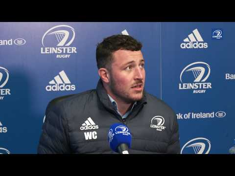 Leinster 36 Cheetahs 12 | Will Connors post-match reaction