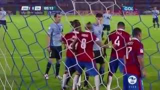 Uruguay vs Chile (3-0) Eliminatorias Mundial Rusia 2018