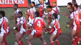 MATE MA'A TONGA & TOA SAMOA | Pacific Rugby League | HAKA