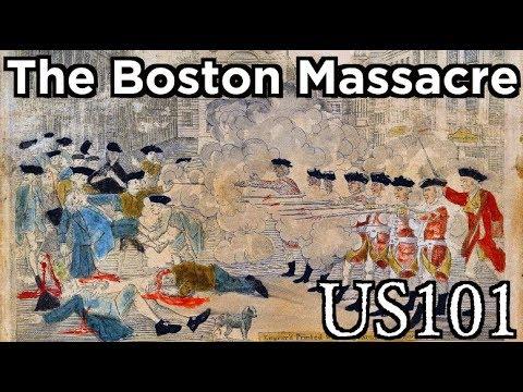 The Boston Massacre - US 101