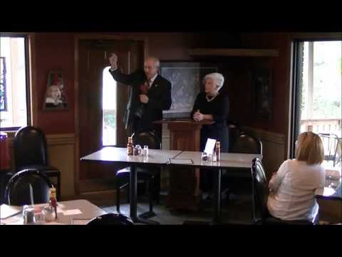 Nancy Emmons & Rep. Mickey Gates