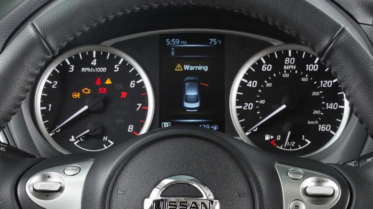 2018 Nissan Sentra Instrument Brightness Control