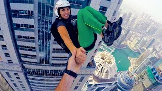 1100ft Freefall Kiss - Roberta Mancino in Dubai 4K