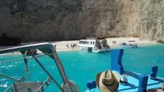 Zakynthos, Zatoka Wraku, Shipwreck, Zante, Navagio Beach 2013