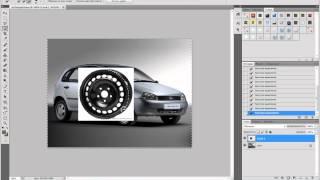 Урок 2. Фотошоп. Замена дисков.