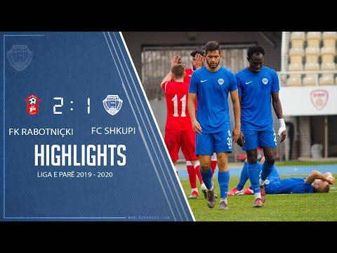 KF Rabotnicki Vs FC SHKUPI 2-1 (0-1)