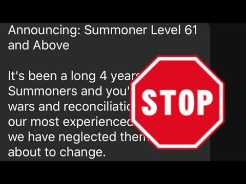 Not So Fast...The Unconfirmed Rumor Of Summoner Level 61 & Beyond Is Running Rampant