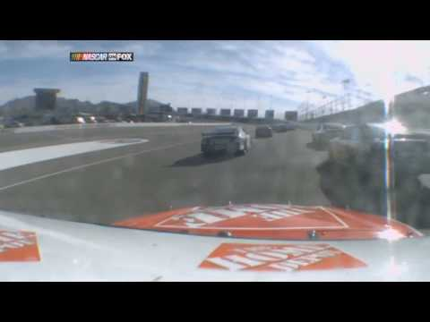 2009 NASCAR Jamie McMurray Drifting Save at Las Vegas Shelby 427 HD
