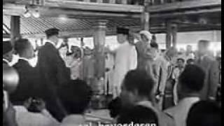 Pelantikan Soekarno sebagai Presiden