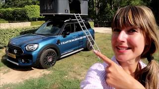 Roadtrip MINI Countryman + AutoHome roof tent