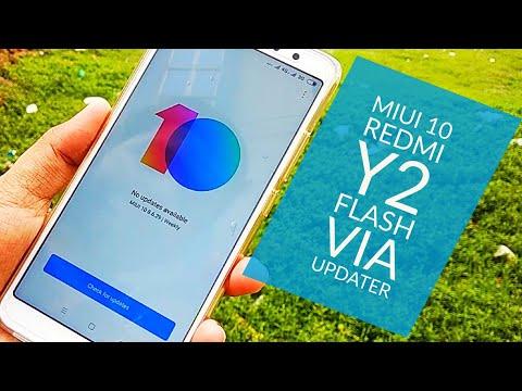 Miui 10 Beta Rom Flash Via Updater on Any Xiaomi Phone | Redmi Y2 Miui 10 | Hindi - हिंदी