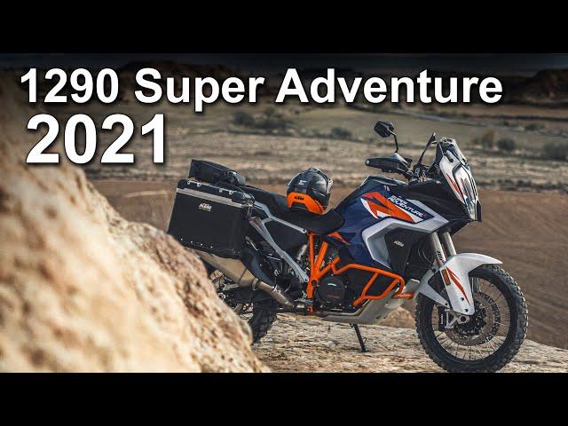 2021 KTM 1290 Super Adventure S & R Update Overview
