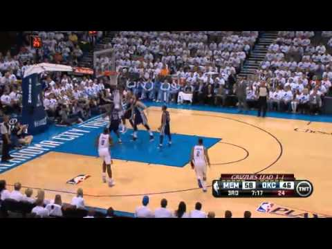NBA Playoffs 2013: Memphis Grizzlies Vs Oklahoma City Thunder Highlights May 15, 2013 Game 5