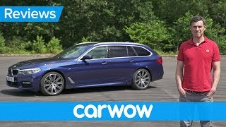 BMW 5 Series Touring 2018 in-depth review | carwow Reviews