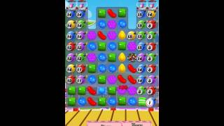 Candy Crush Saga Level 374 iPhone No Boosts