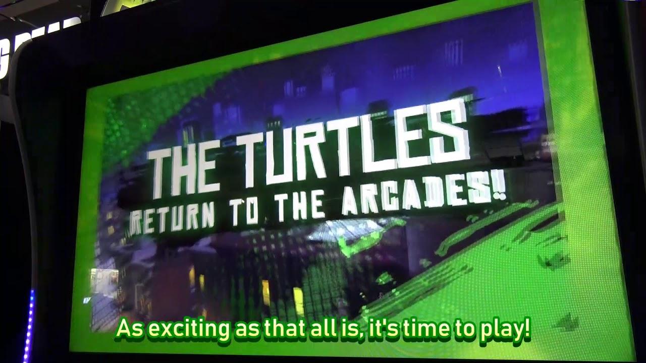 Let's Unbox A Teenage Mutant Ninja Turtles Arcade Game by Raw Thrills