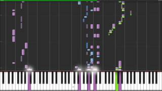 Donkey Kong Country - DK Island Swing - Synthesia