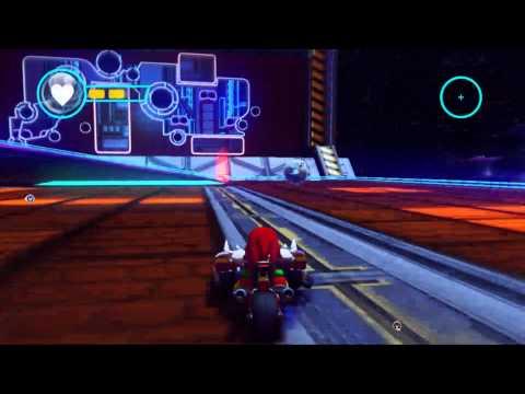 Sonic & All-Stars Racing Transformed (Wii U) - Neon Docks [Arena ~ Battle Arena #3] |