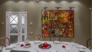 Трехкомнатная квартира в центре Петербурга - 85 м2 Дизайн интерьера. Обзор квартиры.(Заказчик долгое время жил в Европе, и покупая квартиру в Петербурге точно знал, что она будет находиться..., 2015-12-07T16:15:20.000Z)