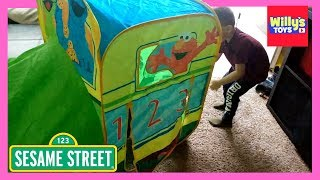 Playhut Sesame Street Express Train Play Toy Review and Unboxing - Willy