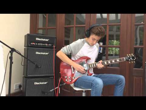 AC DC Guitar Cover, Back in Black