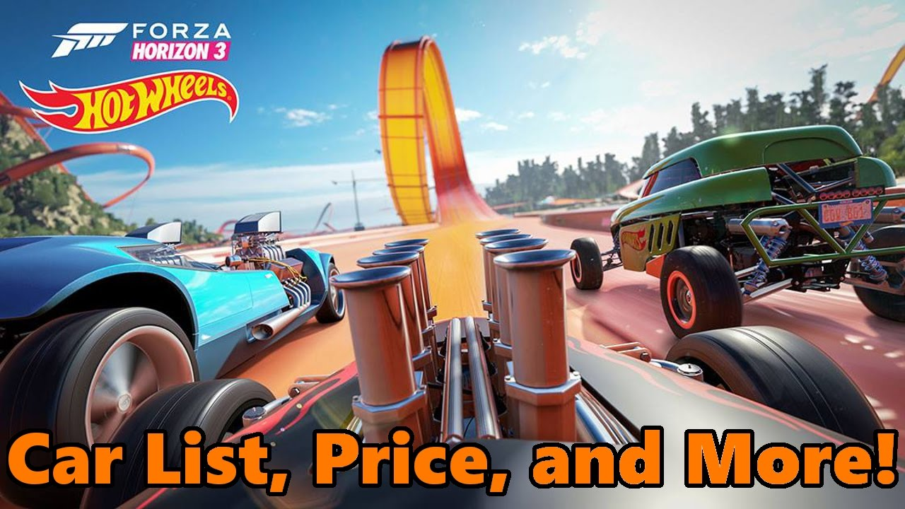 forza horizon 3 hot wheels expansion full details price cars release date and more youtube. Black Bedroom Furniture Sets. Home Design Ideas
