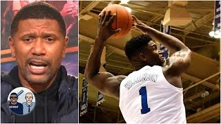 Zion Williamson's 360 dunk reminds Jalen Rose of Chris Webber | Jalen & Jacoby