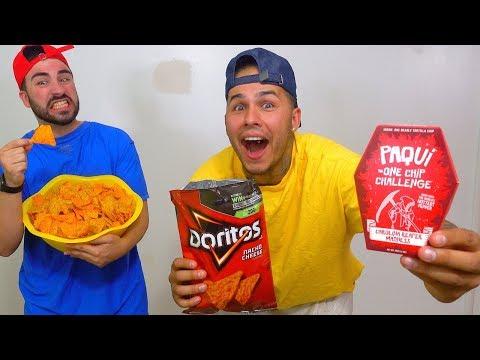 World's HOTTEST Chip PRANK!!! (Carolina Reaper Chip Inside DORITO'S Bag) One Chip Challenge