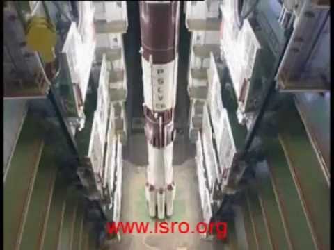 India's Polar Satellite Launch Vehicle [PSLV] - Stacking [assembly] & Successful Launch [PSLV-C6]