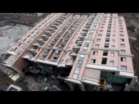 2013 China Building Collapse Shanghai