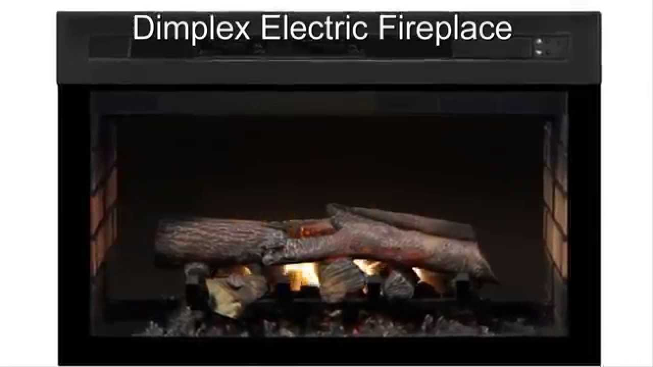 dimplex electric Fireplace flames YouTube