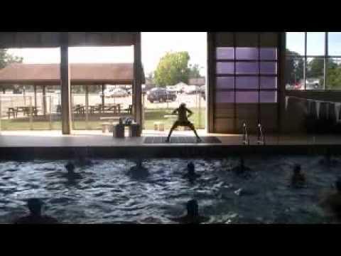 """Z Dance Crew Gadsden, Al Aqua Fitness (Megan) """"Bolo Ta Ra Ra""""-Indian"""