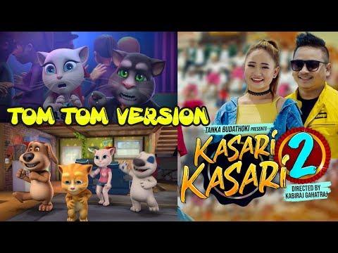 Tom Version  Kasari Kasari 2  Tanka Budathoki  Melina Rai  Tik Tok Ma Dekheko