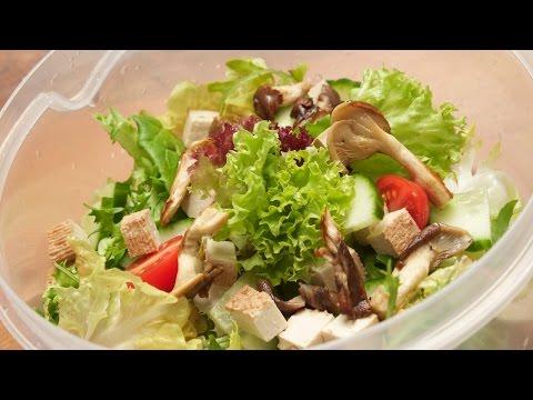 Tofu Salat einfach und fein zubereiten mit der Chefkoch Anleitung von Thomas Sixt