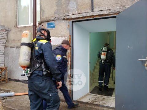 В Туле в подвале МФЦ найдены подозрительные колбы с красным веществом