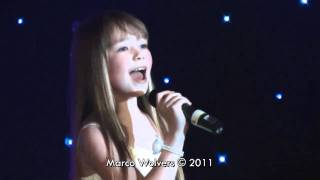 connie talbot joseph foote charity ball somewhere over the rainbow acapella