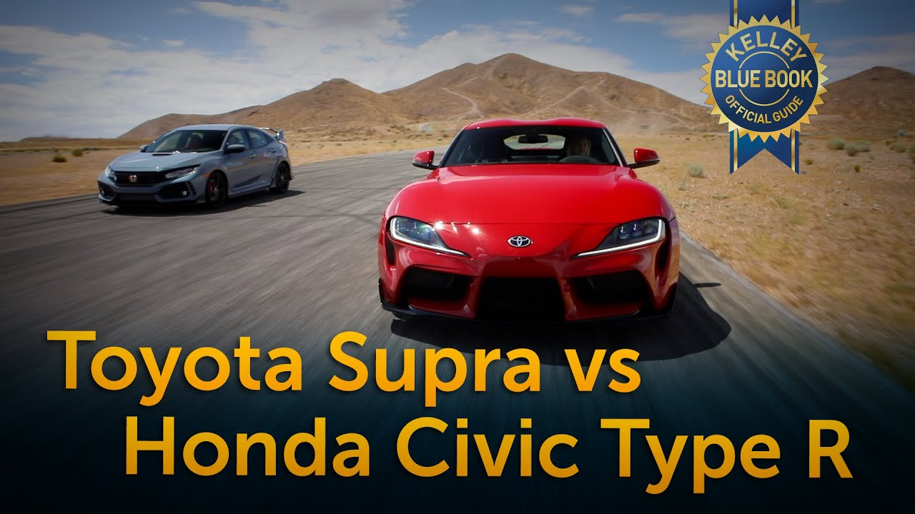 Utv Blue Book >> Toyota Supra Vs Honda Civic Type R