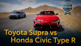 Toyota Supra vs Honda Civic Type R