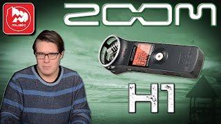 ZOOM H1 - доступная портастудия (диктофон, рекордер)