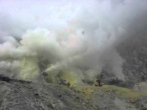 Sulfur Mine 1, Ijen Crater, Indonesia