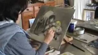 Grisaille/Glazing Workshop by Dennis Clark of the Paint Basket