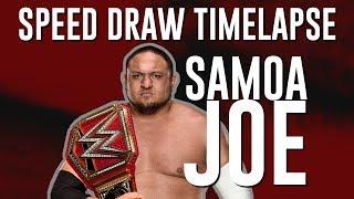 Samoa Joe - Speed Draw Timelapse