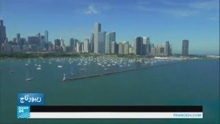 الولايات المتحدة: بحيرة ميشيغان تجذب السياح إلى مدينة الرياح