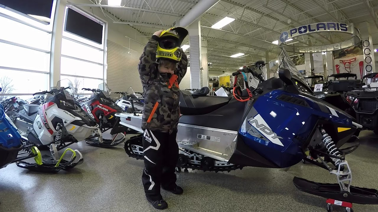 Kids Snowmobile gear at Motoprimo Motorsports - YouTube