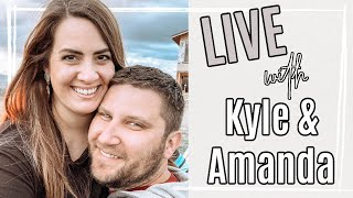 🌵 The First LIVE in Our New House in Arizona :: LIVE with Kyle & Amanda