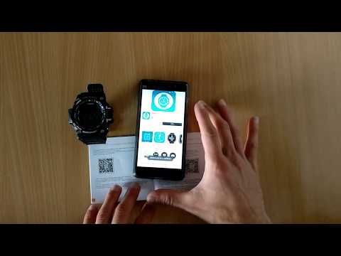 How to connect VS505 with Android - Colmi Sport Smart Watch VS505, EX Series EX16 Sport Smart Watch