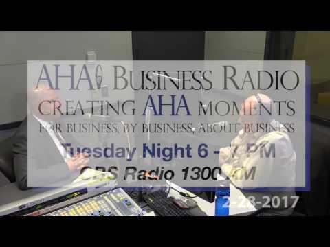 John Dinkel, Publisher the Baltimore Business Journal  | AHA Radio |  Baltimore, MD
