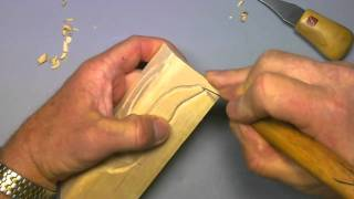 Carving A Simple Woodspirit - Part3